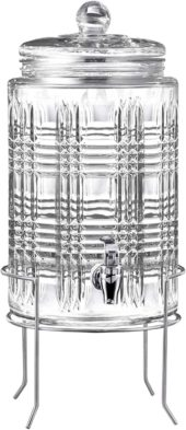 Fitz and Floyd Glass Beverage Dispensers