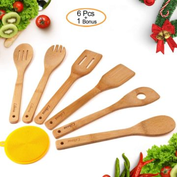 Libosa Wood Cooking Utensils