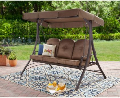 Mainstay Patio Swings with Canopy