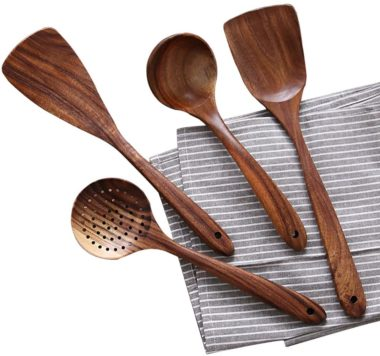 NAYAHOSE Wood Cooking Utensils