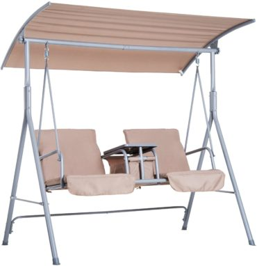 Outsunny Patio Swings with Canopy