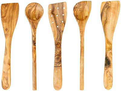 Thirteen Chefs Wood Cooking Utensils