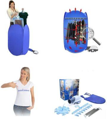 WEEKWEED Portable Clothes Dryers