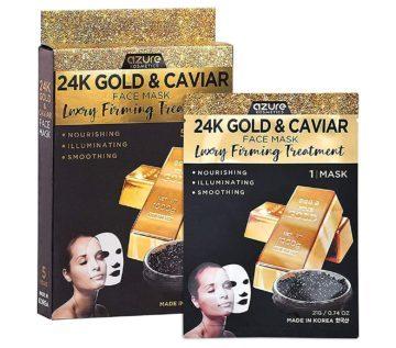 Azure Cosmetics Best Gold Face Masks