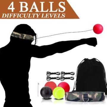 NDGDV Best Boxing Reflex Balls