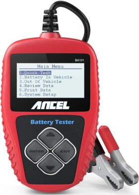 ANCEL Best Car Battery Testers