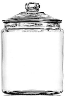 Anchor Glass Canisters