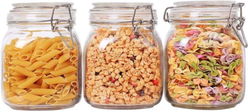 ComSaf Glass Canisters