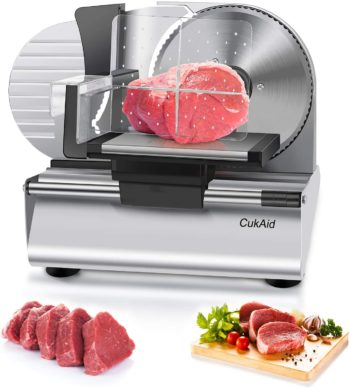 CukAid Best Electric Meat Slicers