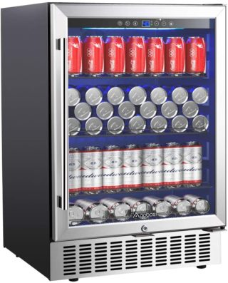 Aobosi Best Glass Door Refrigerators