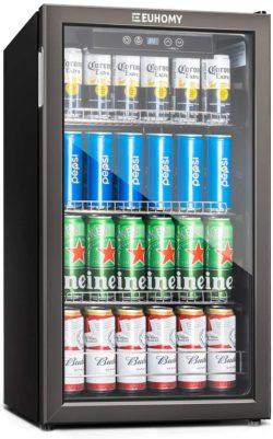 Euhomy Best Glass Door Refrigerators