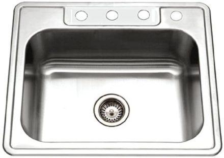 Houzer Single Bowl Kitchen Sinks
