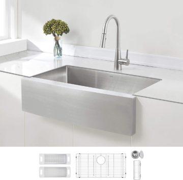 ZUHNE Single Bowl Kitchen Sinks