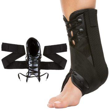 ZenToes Best Lace Up Ankle Braces