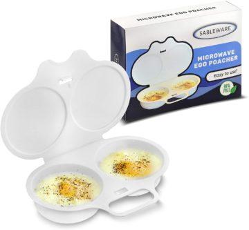 SABLEWARE Best Microwave Egg Poachers