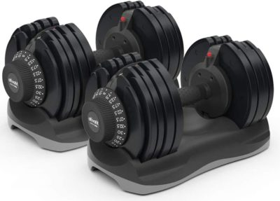ATIVAFIT Dumbbell Sets with Rack