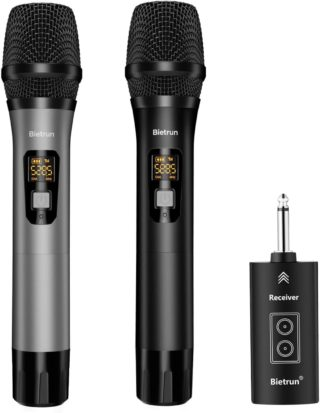 Bietrun Bluetooth Microphones