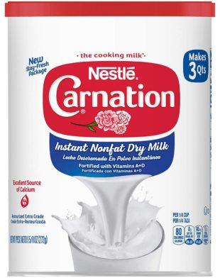 Carnation Powdered Milks
