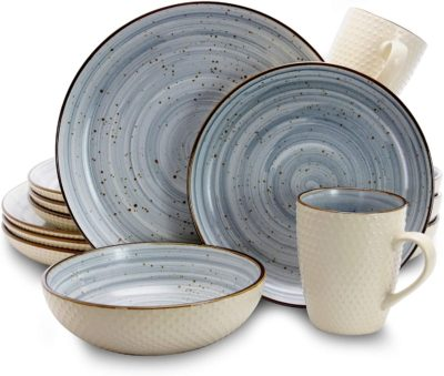 Elama Best Stoneware Dinnerware Sets