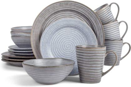 Elanze Designs Best Stoneware Dinnerware Sets
