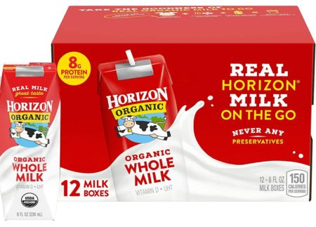 Horizon Organic Powdered Milks