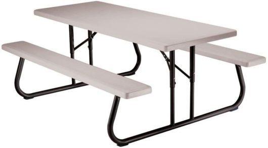 Lifetime Best Folding Picnic Tables