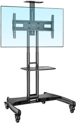 NB North Bayou Best Rolling TV Stands