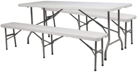 VINGLI Best Folding Picnic Tables