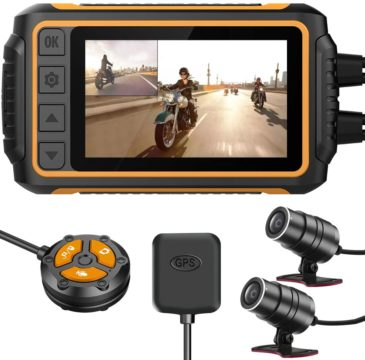ZOMFOM Best Motorcycle Dash Cams