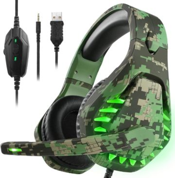 ENVEL Stereo Gaming Headset with Noise Canceling Mic