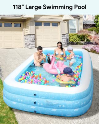 FREEDOM SERIES Inflatable Swimming Pools for Adults