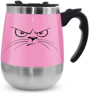 LEADNOVO Best Self Stirring Mugs
