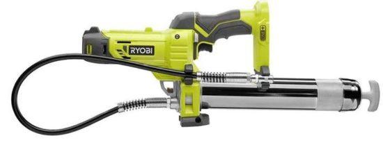 Ryobi Cordless and Electric Grease Guns