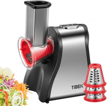 TIBEK Best Electric Cheese Graters and Shredders