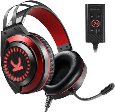 VANKYO Stereo Gaming Headset with Noise Canceling Mic