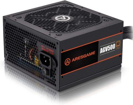 ARESGAME 500 Watt and 550 Watt power supplies