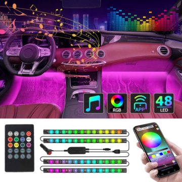 CT CAPETRONIX Best LED Lights for Car Interior