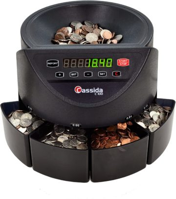 Cassida Coin Counter Machines