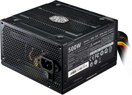 Cooler Master 500 Watt and 550 Watt power supplies