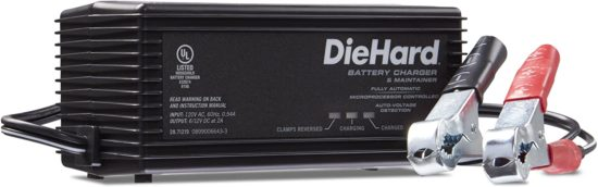 DieHard Battery Chargers and Maintainers