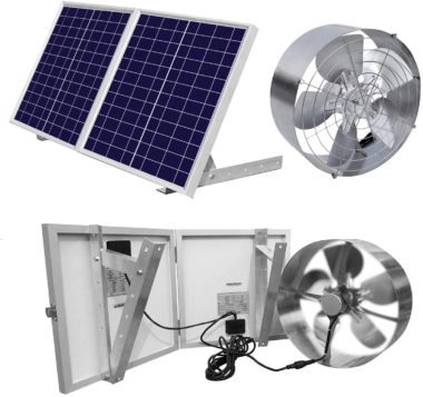 ECO-WORTHY Solar Powered Fans