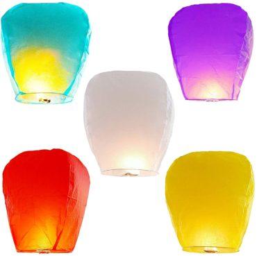 FRSH MNT Chinese Sky Lanterns