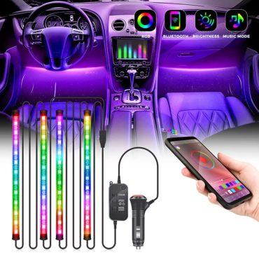 Kemaier Best LED Lights for Car Interior
