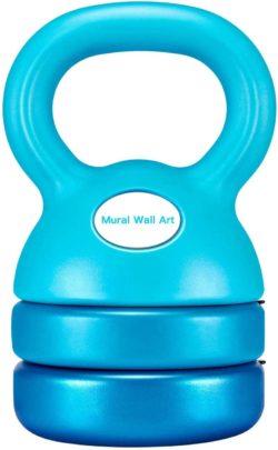 Mural Wall Art Adjustable Kettlebells