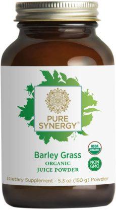 Pure Synergy Organic Barley Grass Juice Powders