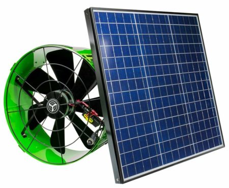 QuietCool Solar Powered Fans