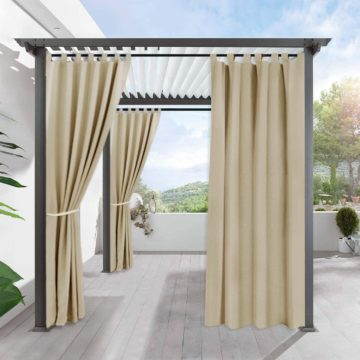 RYB HOME Best Outdoor Curtains