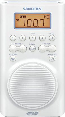 Sangean Shower Radios