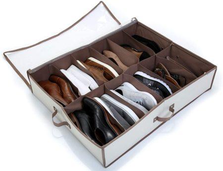 Smart Design Under Bed Shoe Storages