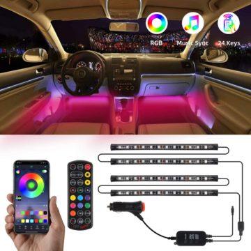 TATUFY Best LED Lights for Car Interior